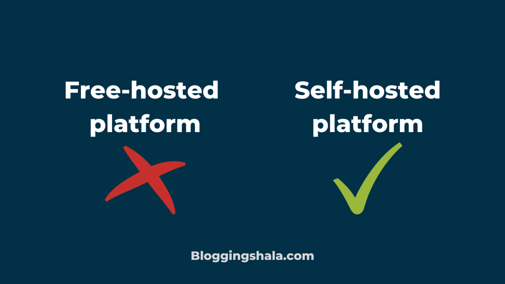 Free vs self hosted