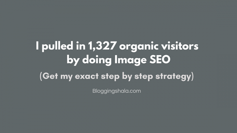 Increase traffic by Image SEO