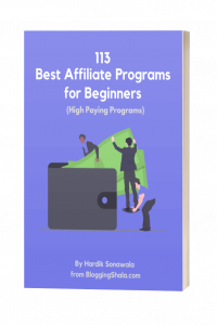 best affiliate programs for beginners free ebook